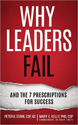 Book Cover: Why Leaders Fail by Mary C. Kelly, PhD,