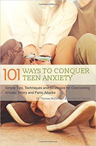 Book Cover: 101 Ways to Conquer Teen Anxiety