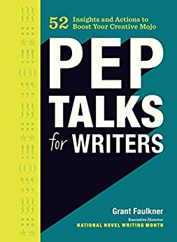 Book Cover: Pep Talks for Writers