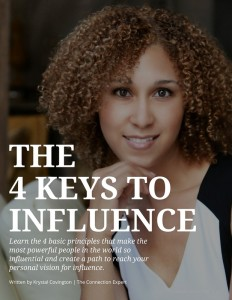 Book Cover: The 4 Keys To Influence