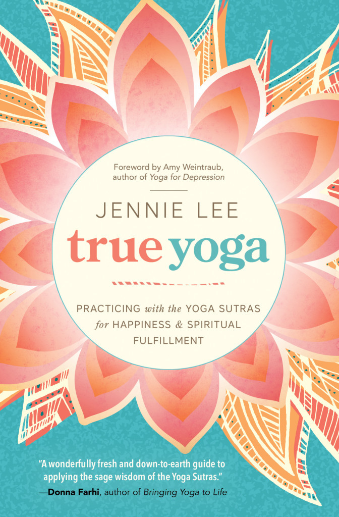 Book Cover: True Yoga by Jennie Lee