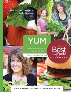 Book Cover: YUM: Plant-Based Recipes For A Gluten-Free Diet