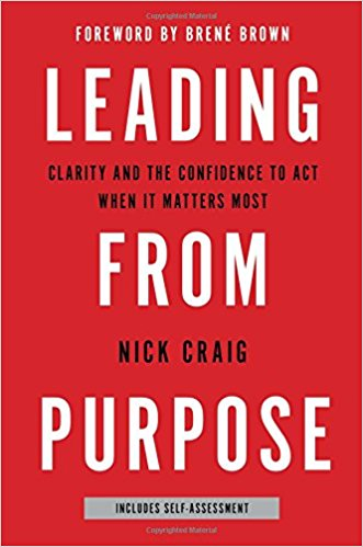 Book Cover: Leading From Purpose