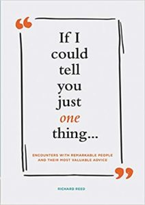 Book Cover: If I Could Tell You Just One Thing . . .