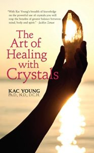 Book Cover: The Art of Healing with Crystals