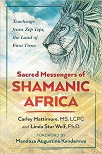 Book Cover: Sacred Messengers of Shamanic Africa