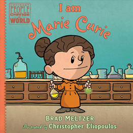 Book Cover: I am Marie Curie
