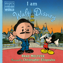 Book Cover: I am Walt Disney