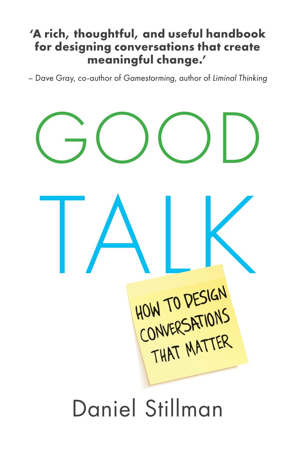 Book Cover: Good Talk