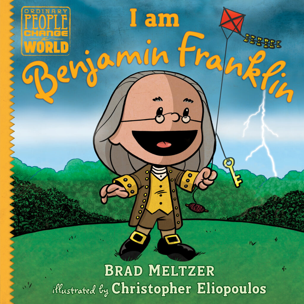 Book Cover: I AM BENJAMIN FRANKLIN