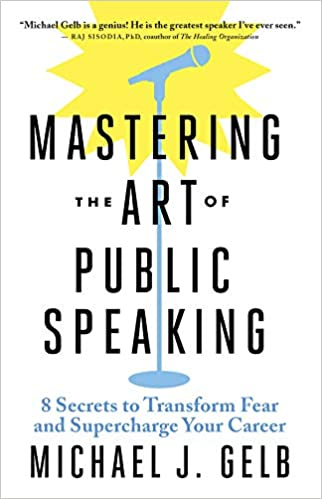 Book Cover: Mastering the Art of Public Speaking