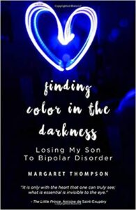 Book Cover: Finding Color in the Darkness