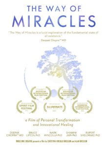 Book Cover: The Way of Miracles Documentary